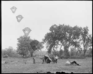 Man-kites, Camp Devens