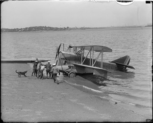 MacMillan's plane that he flew North at Squantum