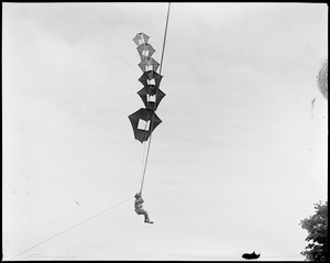 Famous man-kites at Ft. Devens