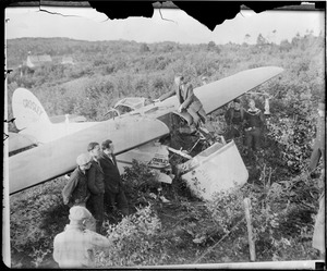 Ruth Nichols crashes in St. John, New Brunswick. She was hospitalized after attempting to fly the Atlantic taking Lindy's trail