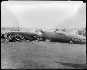 Wreck of the Bonney Gull Curtis Field, N.Y.