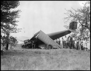 Plane crash, Camp Devens