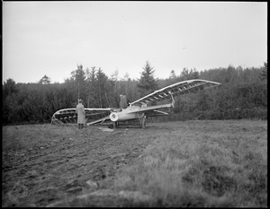 The Eagle plane crashes at Lewiston, Maine