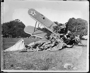 Army aeroplane crashes