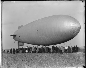 Army blimp TC-5 - East Boston Airport