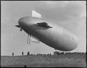 Army blimp TC-5 East Boston Airport