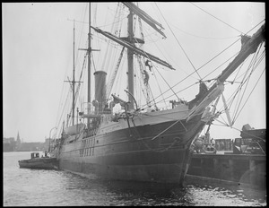 Bear of Oakland, Byrd's ship at Navy Yard - Boston