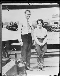 Chas Lindbergh and wife