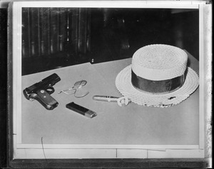 Dillinger's guns, personal effects