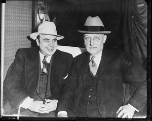 Al Capone taken for a ride - Atlanta prison with H.C.W. Laubenheiner