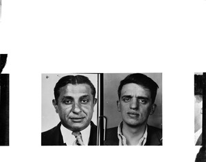 "Anthony Cortese and Henry Selvitelle Boston gangsters charged in Gustin gang murder - Hanover Street. Henry Selvitelle (AKA - Henry Doyes) is the older and faster of the two. Anthony ""Bozo"" Cortese was his younger and thinner bodyguard and gun-carrier at the time of the arrest - (JPJ)."