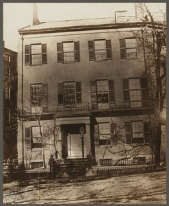Daniel Webster's home. High Street