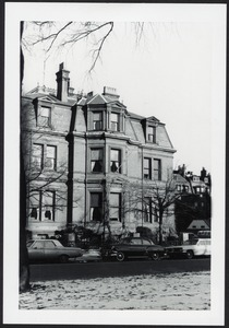Webster House - corner of Comm. Ave. and Dartmouth Street