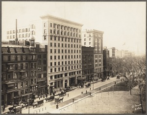 Boylston Street. Pelham Hotel, Colonial Building. March 23, 1902