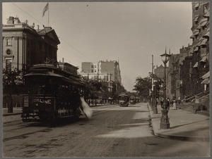 Boylston Street, from Clarendon Street, about 1890