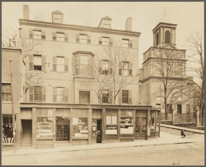 Massachusetts. Boston. Harrison Gray Otis House, 1793, 2 Lynde Street. Cambridge Street front
