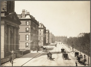 Arlington Street, from Boylston St., 1899