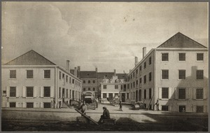 Boston, Massachusetts. Bromfield Place about 1830