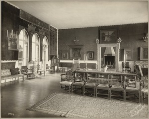 Boston. Fenway Court. Raphael room, from Small Gallery