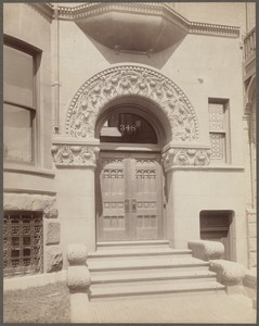 Doorway, 348 Beacon Street