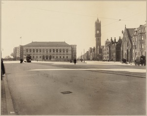 Street views: Copley Sq. and the Boston Public Library