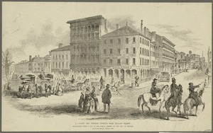 Court and Tremont Streets from Scollay Square