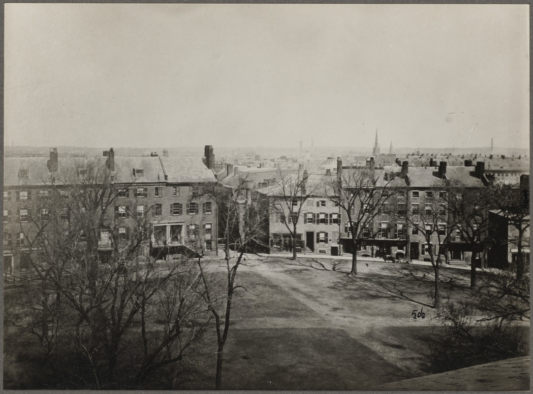 Fort Hill Square, about 1856