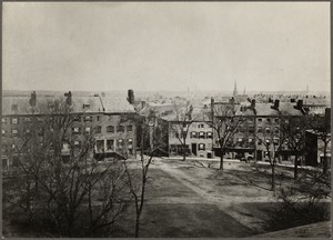 Massachusetts. Boston. Fort Hill Square, about 1856