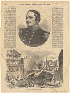 Commodore Francis H. Gregory, U. S. N. ; The opening of Friend Street, Boston