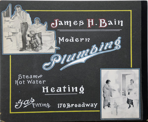 James H. Bain plumbing heating 170 Broadway