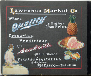 Lawrence Market Co. grocer 530 Essex St.
