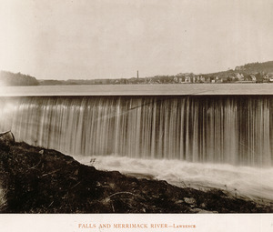 Falls and Merrimack River, Lawrence