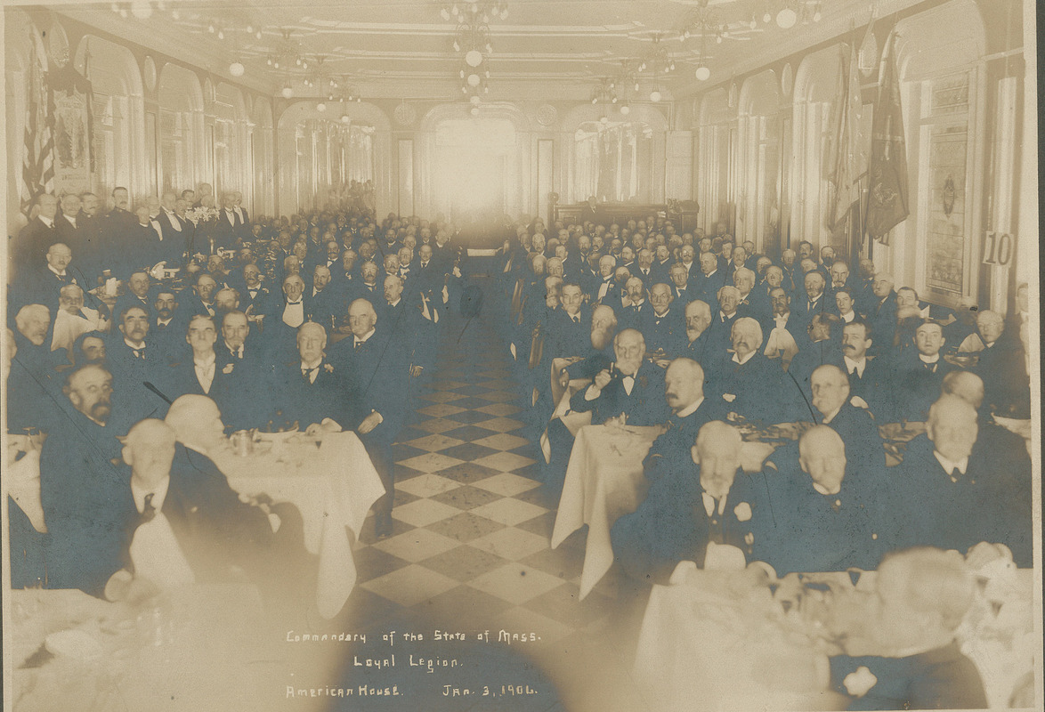 Commandary of the State of Mass. Loyal Legion, American House