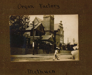 Organ factory, Methuen