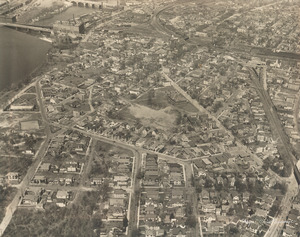 Aerial view of South Lawrence, Mass.