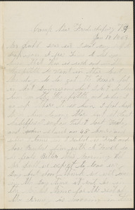 Letter from John F. Buckly, camp near Fredricksburg V.A., to Thomas Jubb, West Chelmsford, Mass., January 18, 1863
