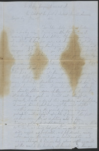 Letter from William Jubb, Lookout Mountain, Tennessee, to Thomas Jubb, West Chelmsford, Mass., January 1, 1864