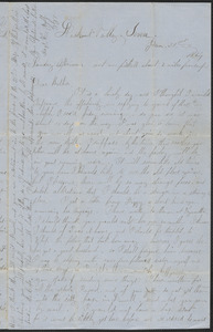Letter from William Jubb, Lookout Valley, Tenn., to Jabez Jubb, West Chelmsford, Mass., January 31, 1864