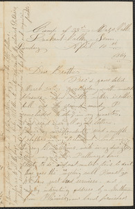Letter from William Jubb, Lookout Valley, Tenn., to Jabez Jubb, West Chelmsford, Mass., April 10, 1864