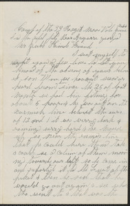 Letter from John F. Buckly, Chattanooga Tenn., to Thomas Jubb, West Chelmsford, Mass., June 8, 1864