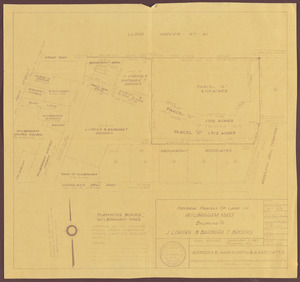 Several parcels of land in Wilbraham, Mass., belonging to J. Loring & Barbara T. Brooks