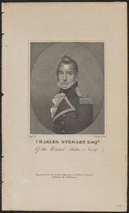 Charles Stewart Esqr of the United States Navy