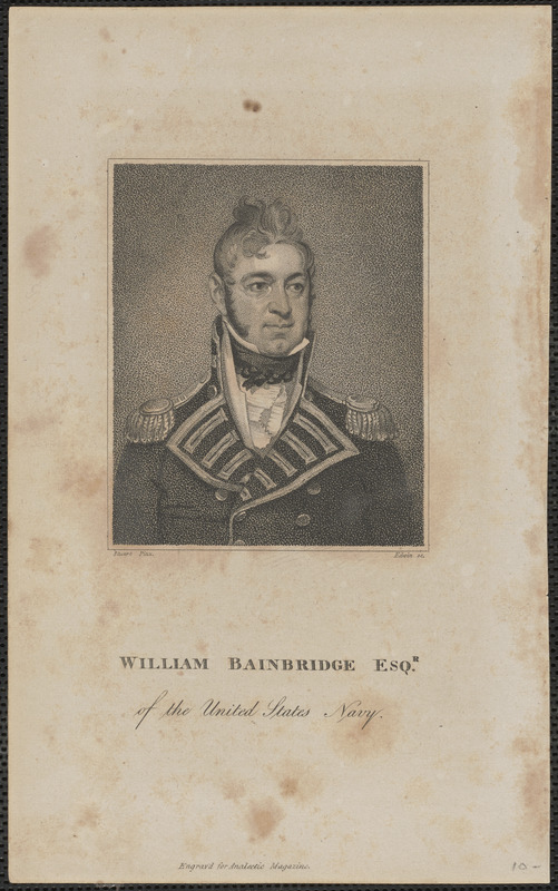 William Bainbridge Esqr. of the United States Navy