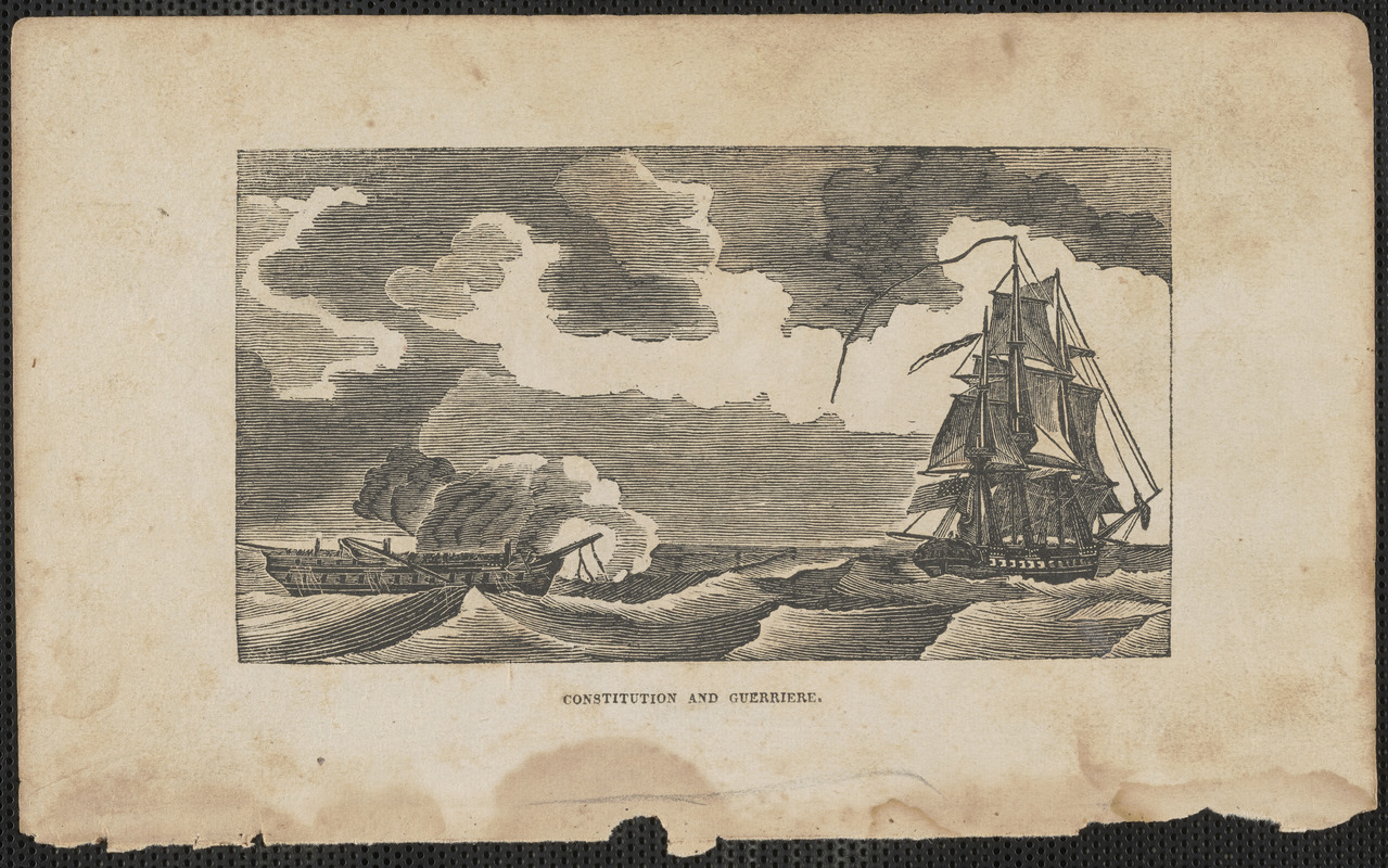 Constitution and Guerriere