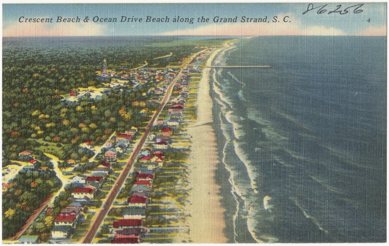 Crescent Beach Ocean Drive Along The Grand Strand S C