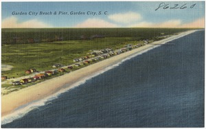 Aerial view of Pawley's Island, S. C.