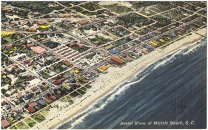 Aerial view of Myrtle Beach, S. C.