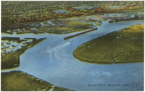 Aerial view, Murrells Inlet, S. C.