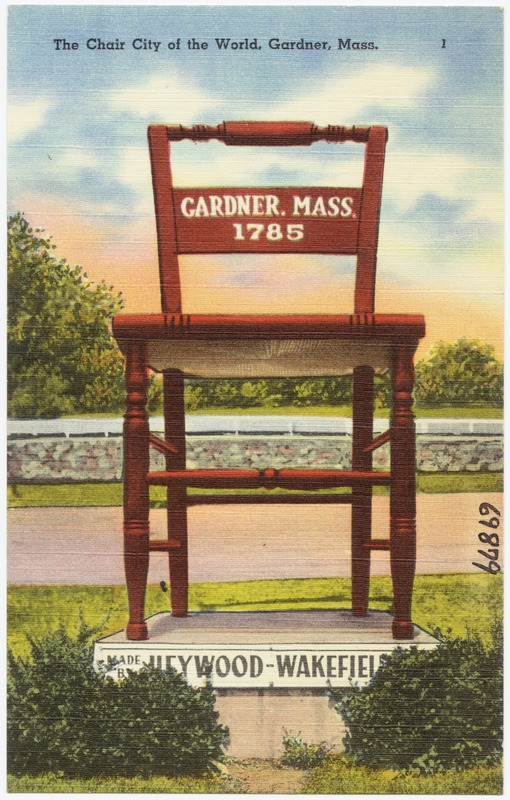 Superbe The Chair City Of The World, Gardner, Mass.