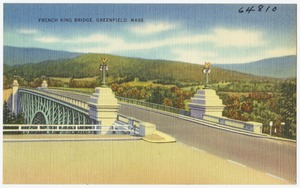 French King Bridge, Greenfield, Mass.